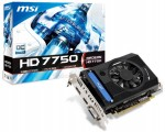 MSI Radeon HD 7750 OC V2