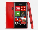 Nokia Lumia505 red (source:Nokia Mexico)
