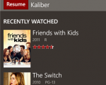 Netflix Windows Phone 8 App
