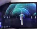 Apple app showing wifi waves around us